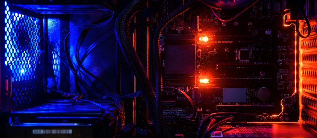 Interior workstation con linux para Davinci Resolve